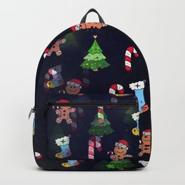 Sweet Christmas by Nico Bielow Backpack