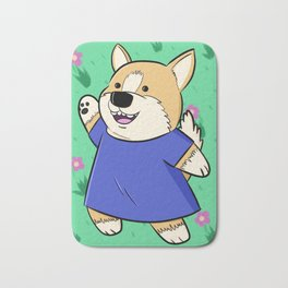 Corg Pal Bath Mat