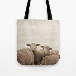 Smiling Sheep  Tote Bag
