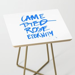 #JESUS2019 - Came Died Rose Eternity (blue) Side Table