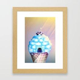 Igloo Flavour Framed Art Print