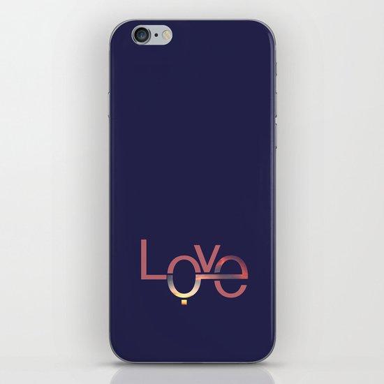 Love in English and Arabic iPhone & iPod Skin