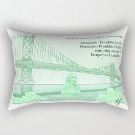 Benjamin Triple Threat Rectangular Pillow