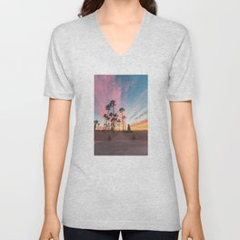 Venice Beach Nature's Fireworks Unisex V-Neck