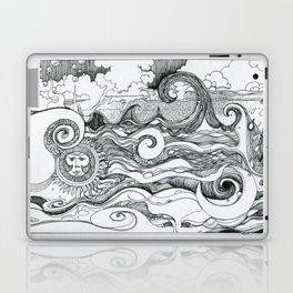 Returning to Wrightsville Beach Laptop & iPad Skin