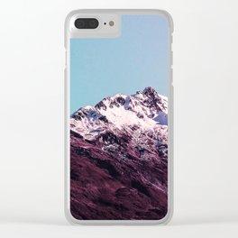 Wanderlust Glory Clear iPhone Case