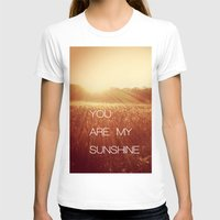 you are my sunshine T-shirts featuring You Are my Sunshine by Olivia Joy StClaire