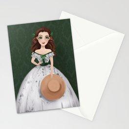 Scarlett O'Hara Stationery Cards