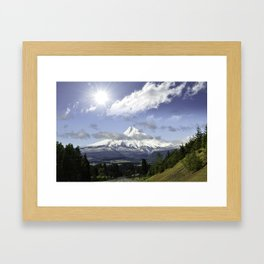 Wy'east - Mount Hood Framed Art Print