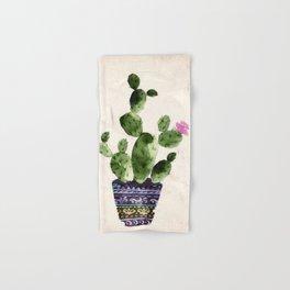 Blooming Cactus Hand & Bath Towel