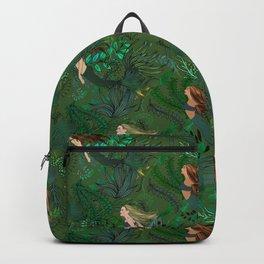 Mermaids in an Underwater Garden Backpack