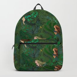 Mermaids in an Underwater Garden Backpack