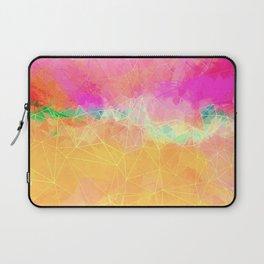 Modern Pastel Rainbow Cascade  Laptop Sleeve