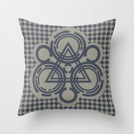 Keyworkings Throw Pillow