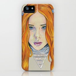 Chloe Grace Moretz for Love Magazine. iPhone Case