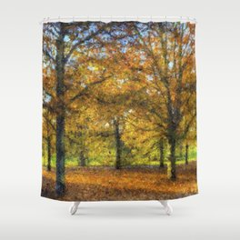 Greenwich Park London Art Shower Curtain