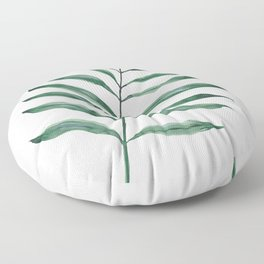 Tropical Greenery - Palm Tree Leaf Floor Pillow
