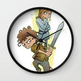 Spell/Sword Wall Clock