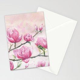 Magnolias Blossom Stationery Cards