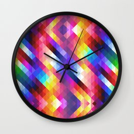 HIPSTER GEOMETRY Wall Clock