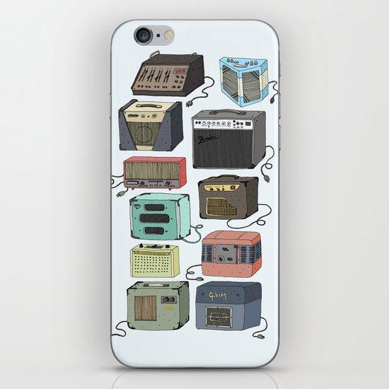 amplifiers old school iPhone & iPod Skin