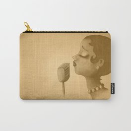 The Canary - Vintage brown Carry-All Pouch