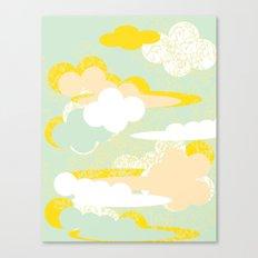 70's Sky Canvas Print