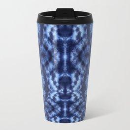 Topanga Tie-Dye Blue Travel Mug