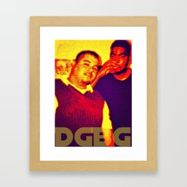 Rip Big Game & Wiggz Framed Art Print