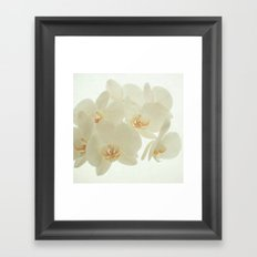 Pure and Simple Framed Art Print