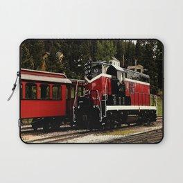 Black Hills Diesel Locmotive # 63 Abstract Laptop Sleeve