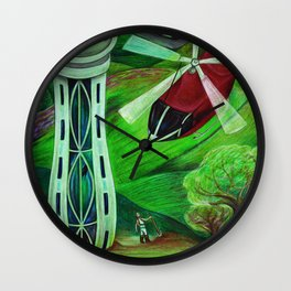 Brave New World Savage Wall Clock