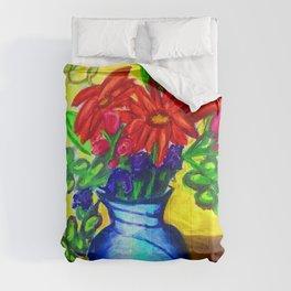 Sun Vase Comforters