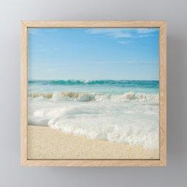 Aloha Kapukaulua Beach Framed Mini Art Print