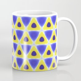 A sea of Triangles Coffee Mug