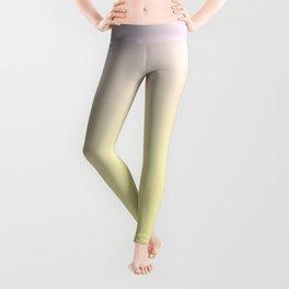 GLOWING MUSTARD - Minimal Plain Soft Mood Color Blend Prints Leggings