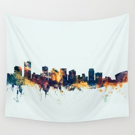Phoenix Arizona Skyline Wall Tapestry