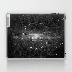 STARGAZING IS LIKE TIME TRAVEL Laptop & iPad Skin
