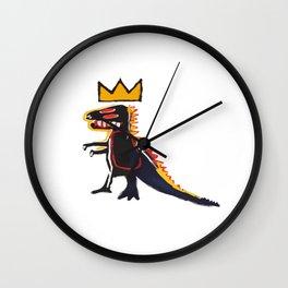 Basquiat Dinosaur Wall Clock