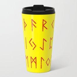 Elder Futhark Travel Mug