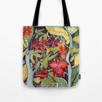 paradise Tote Bags featuring Paradise  by Felicia Atanasiu