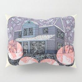 Pink Moon Pillow Sham