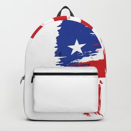 Hot Puerto Rican Wife Gift for Puerto Rico Husband  Print Backpack