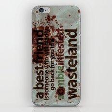 Zombie Infested Wasteland iPhone & iPod Skin