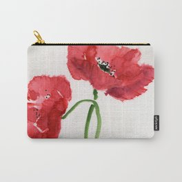 Crossed Carry-All Pouch