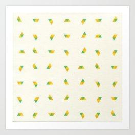 Pineapple Rotator Art Print