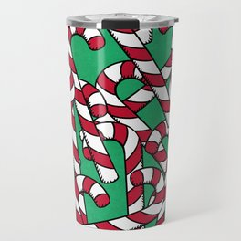 Candy Canes Travel Mug