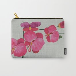 Watercolour Orchid Carry-All Pouch