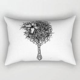 Natural detailing 10,  mirror Rectangular Pillow