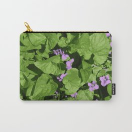 Viola flower Carry-All Pouch